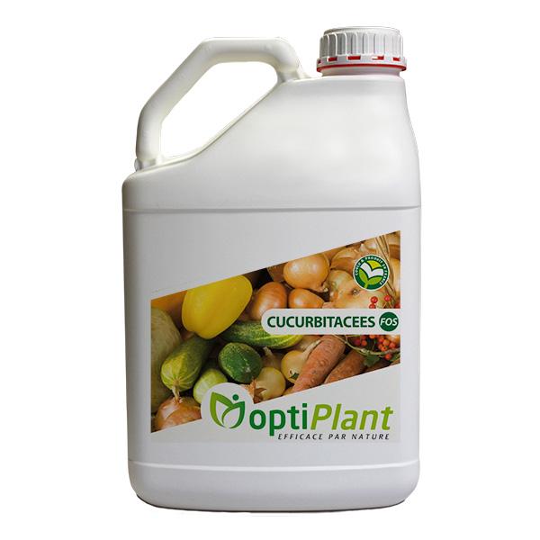 Optiplant produit soutien nutrition legumes cucurbitacees melons concombres FOS