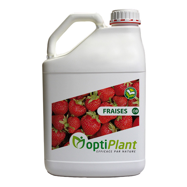Optiplant produit soutien nutrition fraises fraisiers OB