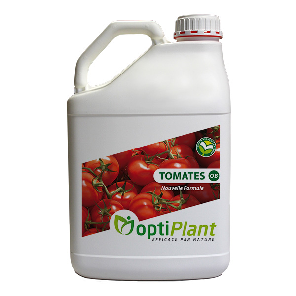 Optiplant produit soutien nutrition tomates OB serre plein champ