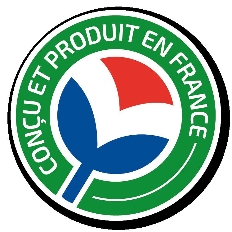 logo concu et produit en france avifar