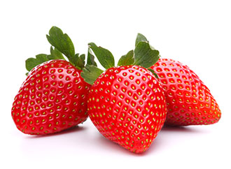 strawberry gariguette natural without pesticides