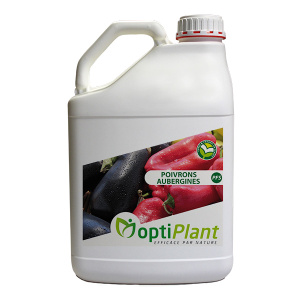 Optiplant product support nutrition pepper aubergines eggplant